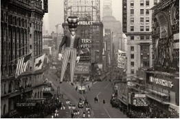 Vintage Macy's Thanksgiving Day Parade Photo